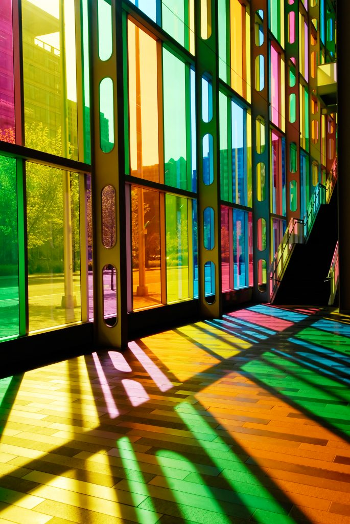 Decorative window film a stained glass alternative for Decorative stained glass windows